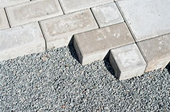 Block paving and interlocking