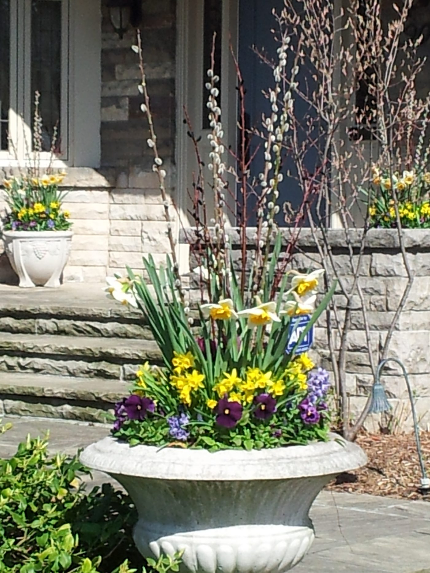 residential spring  urn
