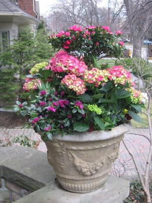 Spring Urn