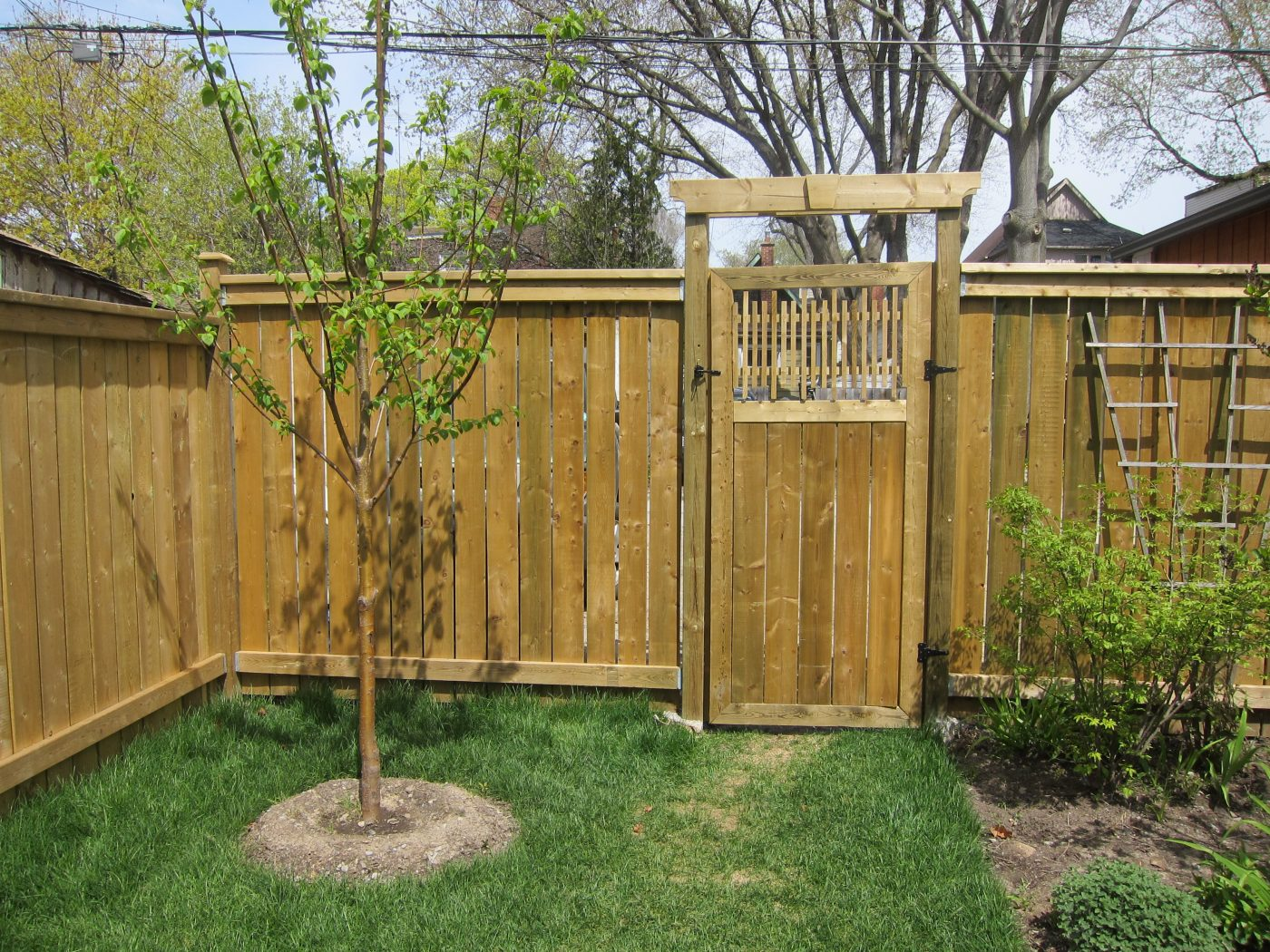 wood working - gate (2)