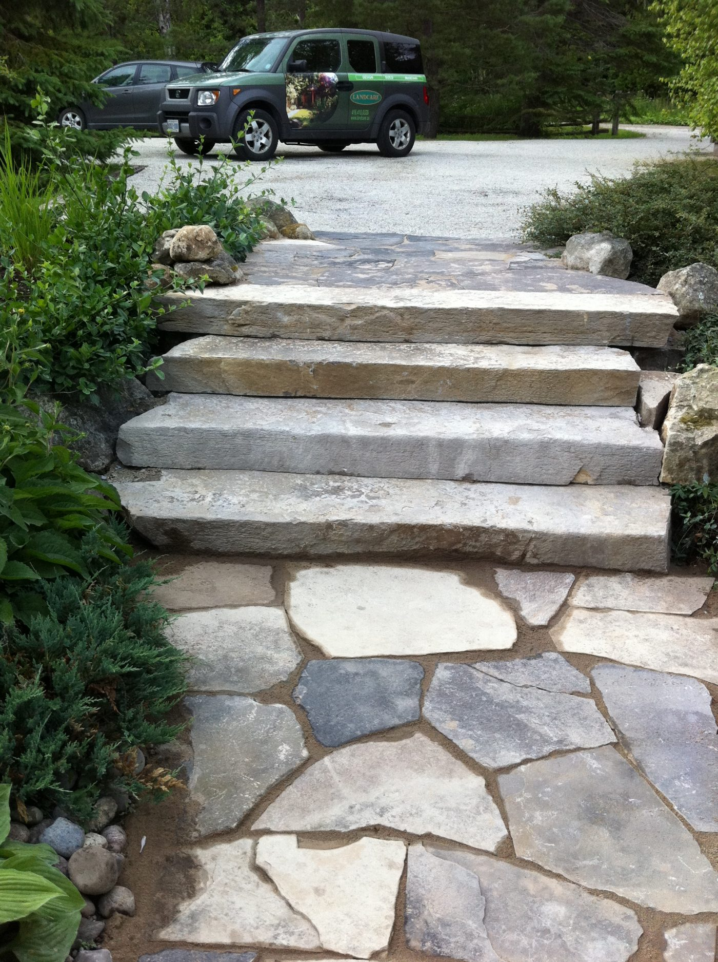 Maple valley- front steps