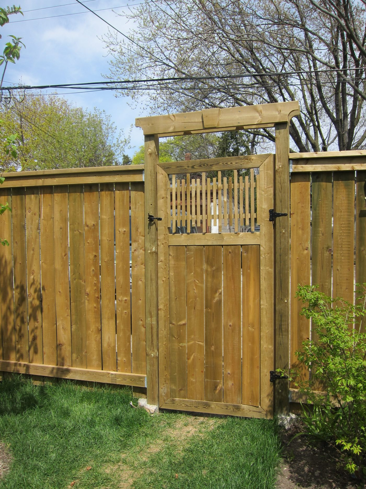 wood working - gate (1)