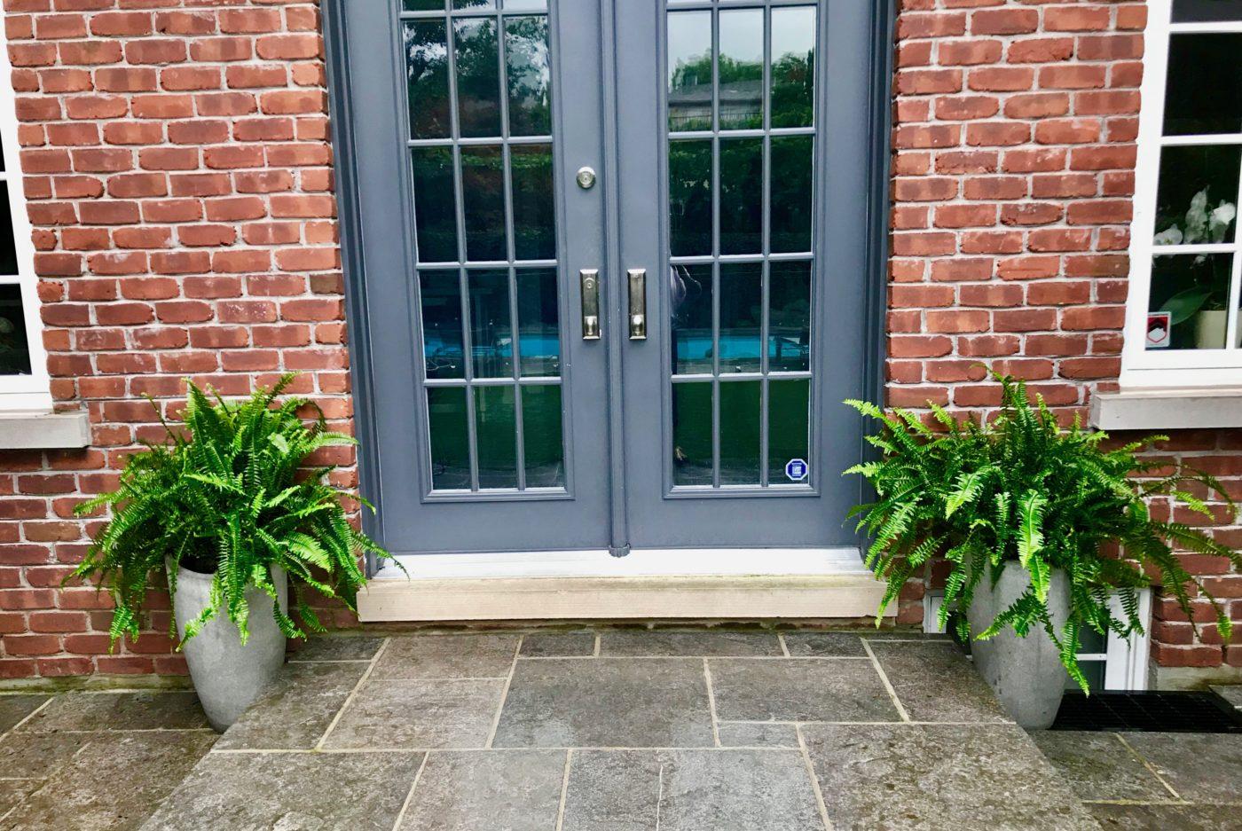 Alexandra Blvd stone patio element
